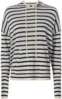 Nili Lotan Hooded Stripe Sweater