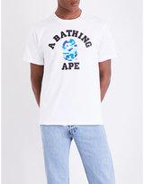 A Bathing Ape College Camo-print Cotton-jersey T-shirt