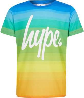 Hype River Island Boys Pride short sleeve T-shirt