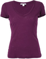 James Perse V-neck T-shirt - women - Cotton - 4