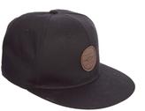 Asos Flat Peak Cap - Black