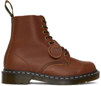 Dr. Martens Brown Horween Made in England 1460 Boots