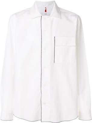 Oamc contrast trim shirt