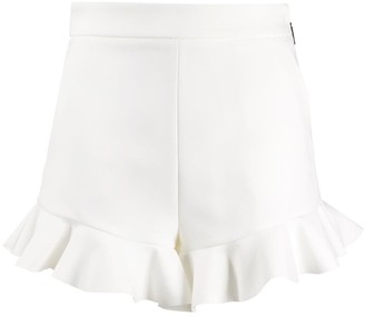 MSGM Ruffled Trim Shorts