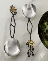 Michael Aram Two-Piece Gold Orchid Serving Set