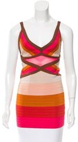 M Missoni Striped Bandage Tunic
