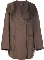 Iris von Arnim boxy coat