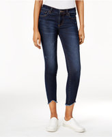 KUT from the Kloth Connie Frayed-Hem Benefic Wash Skinny Jeans