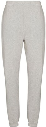 LES TIEN Tapered-Leg Cotton Track Pants