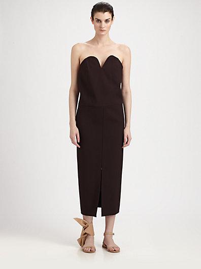 Maison Martin Margiela Strapless Dress