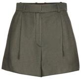Versace Silk-blend Shorts