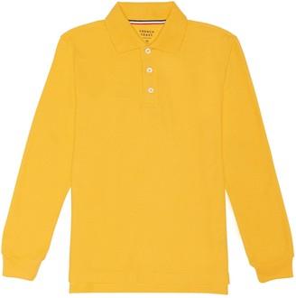 French Toast Boys 4-20 School Uniform Long-Sleeve Pique Polo