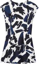 Jil Sander Printed Twill Top - Blue