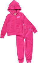 Juicy Couture Pink Hood Zip-Up Jacket & Lounge Pants - Infant Toddler & Girls
