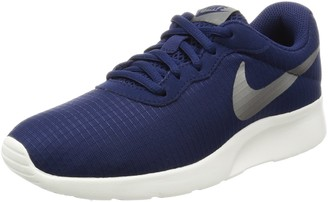 Nike Women's Tanjun Training Shoes - Binary Blue/Metallic Pure Water - 7 UK