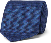 Drakes Drake's - 8cm Wool, Silk and Cashmere-Blend Tie