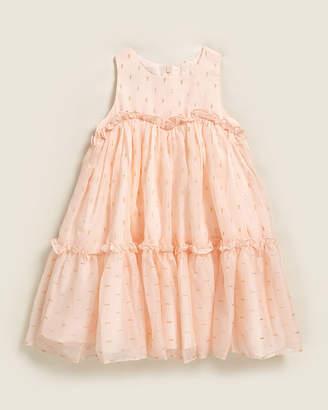 Pippa & Julie Toddler Girls) Peach A-Line Dress