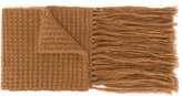 Stella McCartney fringe-trimmed scarf