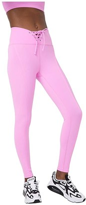 YEAR OF OURS Football Leggings (True Pink) Women's Clothing