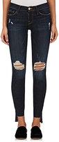 Frame Women's Le Skinny De Jeanne Raw Stagger Distressed Jeans