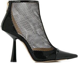 Jimmy Choo Kix 100mm boots