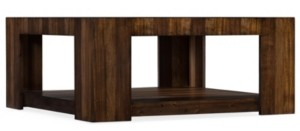 Hooker Furniture Across the Grain Rectangle Cocktail Table