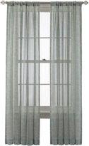 Royal Velvet Cordial Print Rod-Pocket/Back-Tab Curtain Panel