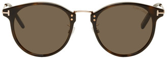 Tom Ford Tortoiseshell Jamieson Sunglasses