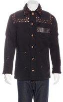 Givenchy Wool Embellished Jacket
