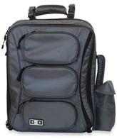 Diaper Dude Convertible Messenger Backpack in Grey