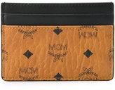 MCM logo print cardholder - women - Calf Leather - One Size