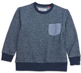 Sovereign Code Boys 2-7 Textured Crewneck Sweater