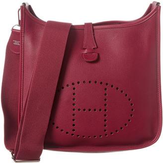 Hermes Tosca Clemence Leather Evelyne Iii Gm