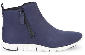 Cole Haan Waterproof Suede Sneaker Booties
