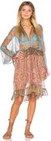 Zimmermann Realm Plunge Draw Dress