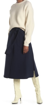 Club Monaco Belted Pocket Skirt