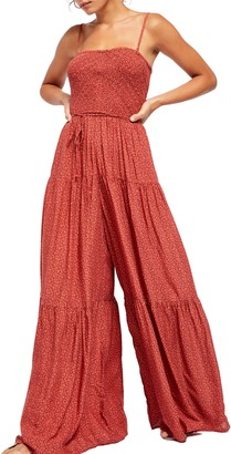 Free People Little of Your Love Wide Leg Jumpsuit