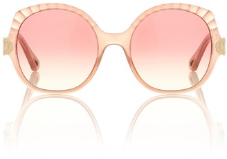Chloé Vera Seashell oversized sunglasses