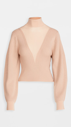 Dion Lee Merino Hosiery Sweater