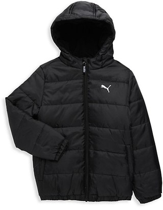 Puma Boy's Quilted Bubble Jacket