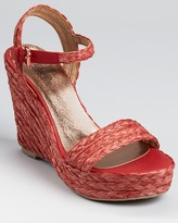 Belle by Sigerson Morrison Sandals - Lucia Raffia Wedge