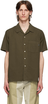 Paul Smith Khaki Classic Fit Short Sleeve Shirt