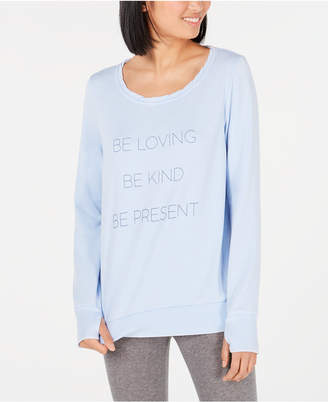 Ideology Graphic Long-Sleeve Pullover