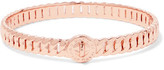 Marc by Marc Jacobs Turnlock Rose Gold-Tone Bangle