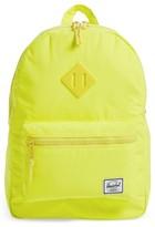 Herschel Girl's Heritage Backpack - Yellow