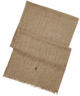 Polo Ralph Lauren Washed Linen-Cotton Scarf