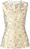 Stella McCartney 'Annie' paisley jacquard sleeveless top