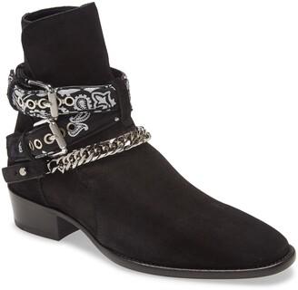 Amiri Bandana Strap Ankle Boot