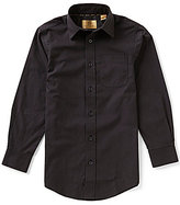 Class Club Gold Label Big Boys 8-20 Non-Iron Solid Button-Front Dress Shirt