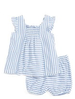 Infant Girl's Tucker + Tate Flutter Sleeve Tunic & Shorts Set